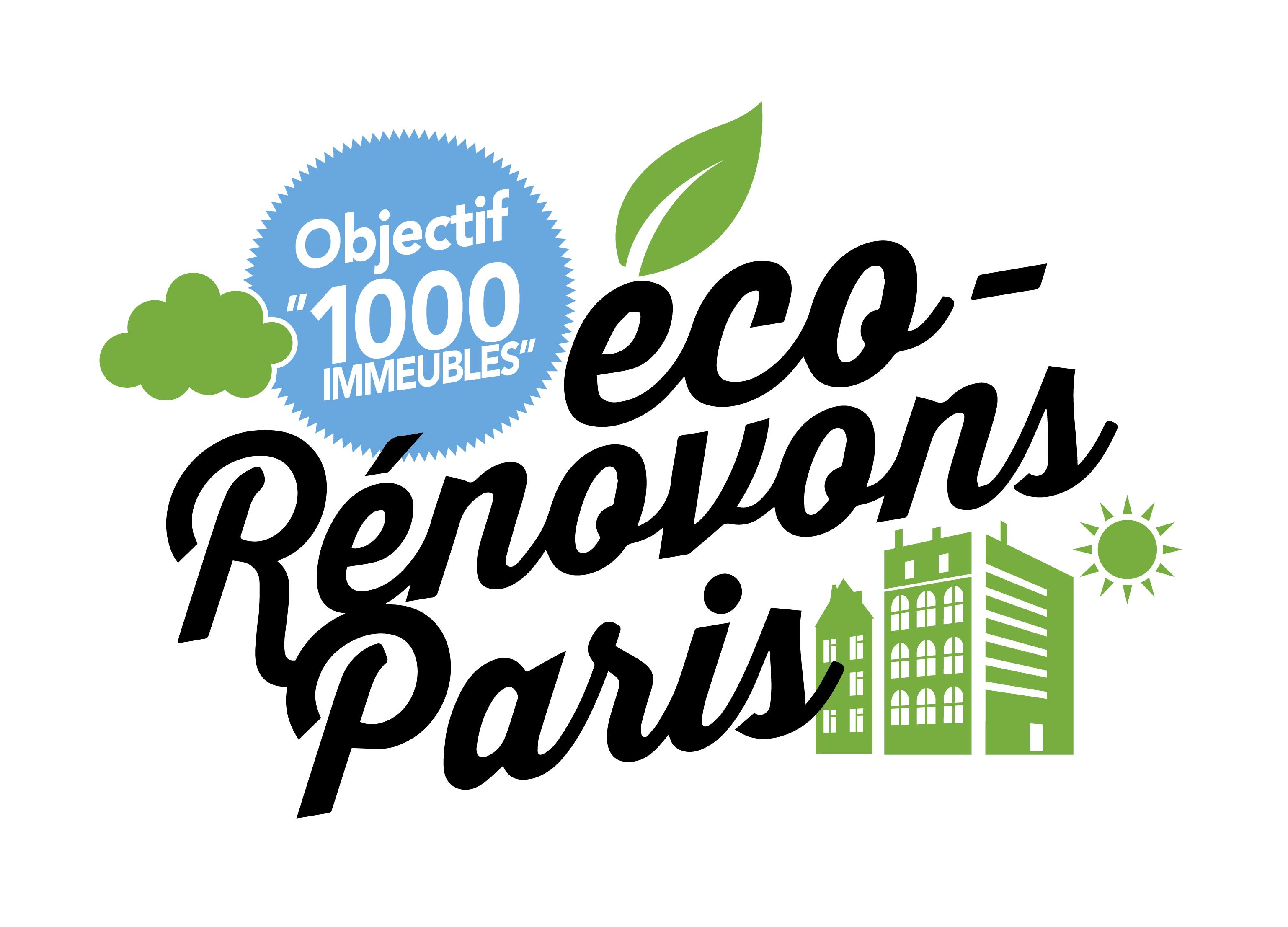 Logo eco renovons paris
