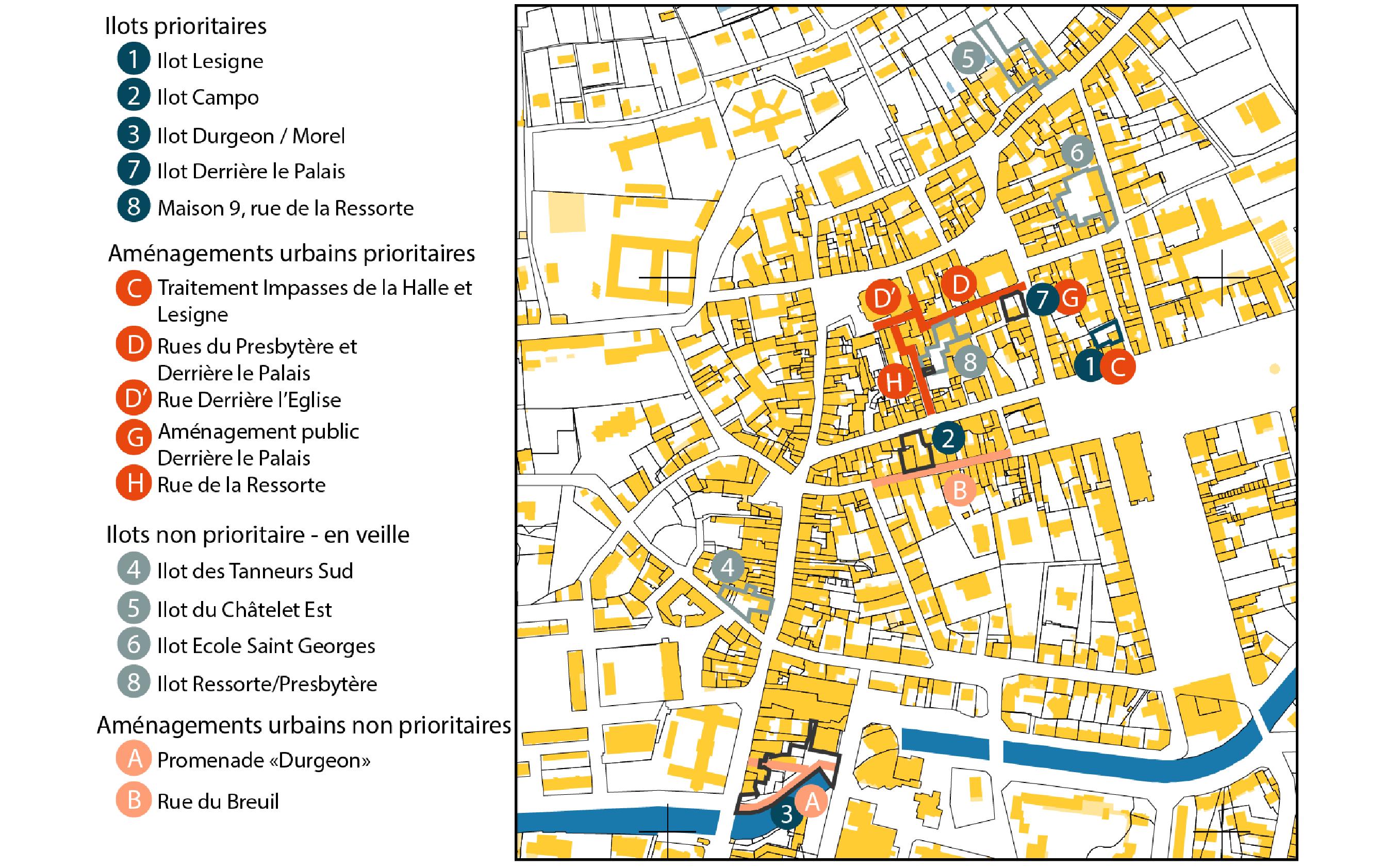 Concession de Vesoul - Plan de la concession - Urbanis