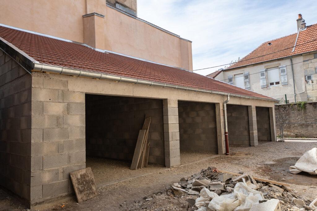 Concession Vesoul - Garages finalises