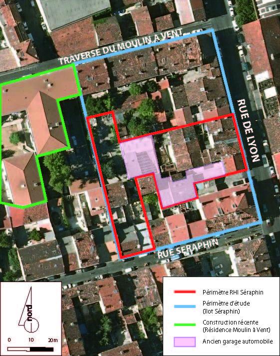 RHI Seraphin - Perimetre de l'operation